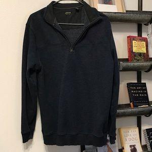 Arrow 3/4 zip sweatshirt